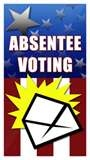 Absentee voting logo
