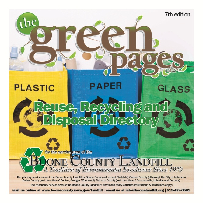 Green Pages Cover Art